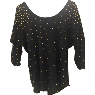 Marc by Marc Jacobs Black Glitter Top for Women