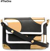 Marni polka dot 'Trunk' shoulder bag - women - Leather - One Size