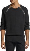 Givenchy Zipper-Trim Sweatshirt