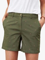 Joules Cruise Embroidered Chino Shorts
