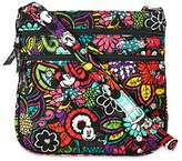 Vera Bradley Magical Blooms Triple Zip Hipster Disney Mickey