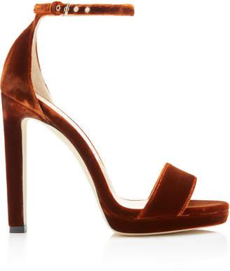 Jimmy Choo Misty Velvet Sandals