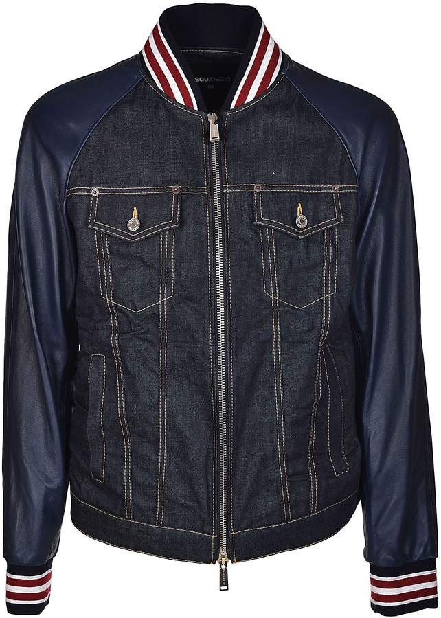 DSQUARED2 Denim Bomber