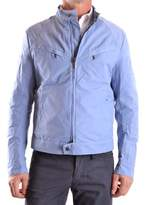 Brema Men's Light Blue Polyester Outerwear Jacket.