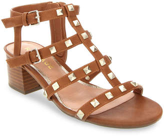 Rampage Milty Studded Heeled Sandals Women Shoes