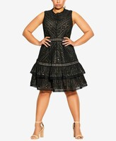 Thumbnail for your product : City Chic Plus Size Loving Lace Dress