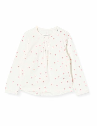 Noppies Baby Girls' G Regular T-Shirt Ls Childress AOP