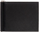 Prada Black Money Clip Wallet