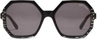 Oliver Goldsmith Sunglasses Yatton 1964 Black Mirror Maze