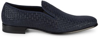 Mezlan Boheme II Suede & Patent Leather Loafers