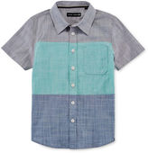 Ocean Current Short-Sleeve Colorblock Button Down Shirt - Preschool Boys 4-7