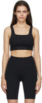 Thumbnail for your product : Girlfriend Collective Black Tommy Sports Bra