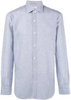 Barba striped shirt - men - Cotton/Linen/Flax - 43