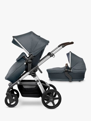 Silver Cross Wave Pushchair and Carrycot, Slate