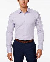 Tallia Men's Slim-Fit Purple Polka Dot Cotton Dress Shirt
