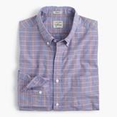 J.Crew Secret Wash shirt in end-on-end cotton check