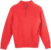 E-Land Kids Red Quarter-Zip Sweater - Toddler & Boys
