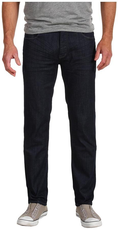 Calvin Klein Jeans Skinny Rinse Stretch Denim Jean in Dark Wash (Dark Wash) - Apparel