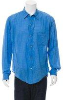 Yohji Yamamoto Long Sleeve Button-Up Shirt
