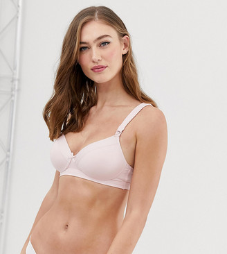 Dorina Avalon organic cotton nursing bra in pink