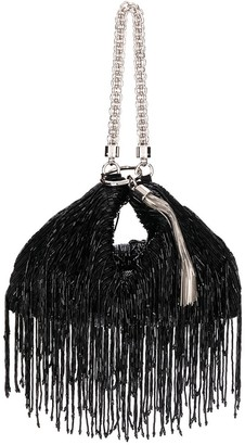 Jimmy Choo Callie fringed clutch
