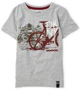 DKNY Boys 4-7) Bike Chain Tee