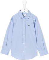 Lacoste Kids classic fitted shirt