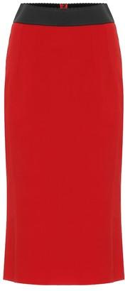 Dolce & Gabbana High-rise pencil skirt