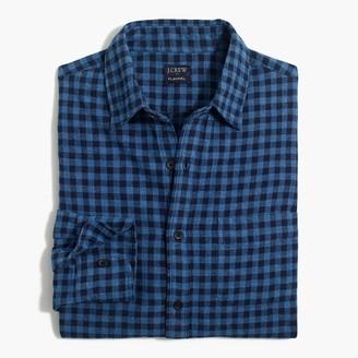 J.Crew Plaid slim flannel shirt