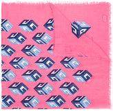 Gucci cube print shawl