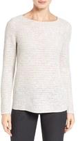 Eileen Fisher Women's Organic Linen & Cotton Sweater