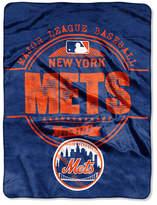 Northwest Company New York Mets Micro Raschel Structure Blanket