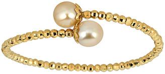 BELPEARL 18K Over Silver 10-11Mm South Sea Pearl Bracelet