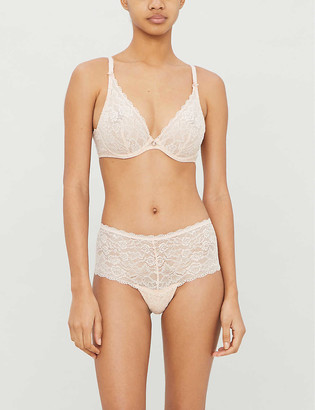 Aubade Rosessence underwired lace bra