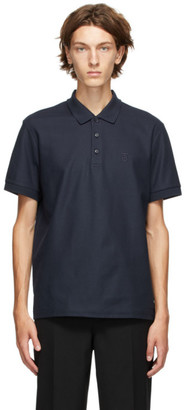 Burberry Navy Eddie Polo