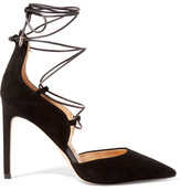 Sam Edelman Helaine Suede Pumps - Black