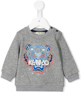 Kenzo logo print sweatshirt - kids - Cotton - 36 mth