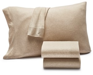 Lucky Brand Closeout! Jersey 3-Pc. Twin Sheet Set, Created for Macy's Bedding