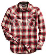 Ralph Lauren Slim Fit Plaid Western Shirt