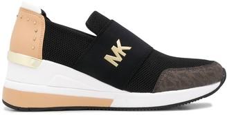 MICHAEL Michael Kors Logo-Print Slip-On Sneakers