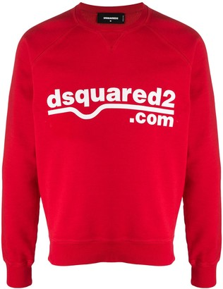 DSQUARED2 Dsquared2.com Print Sweatshirt