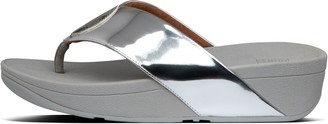 FitFlop Flogo Metallic Toe-Post Sandals