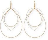 Lana Three-Tier Mixed-Shape Earrings