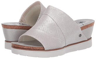 OTBT Earthshine (Silver) Women's Wedge Shoes