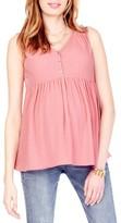 Ingrid & Isabel Women's Crinkle Maternity Top