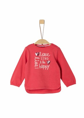 S'Oliver Baby Girls' 65.908.31.8705 Long Sleeve Top