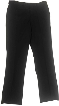 Jean Louis Scherrer Jean-louis Scherrer Black Wool Trousers for Women