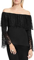 Vince Camuto Lace Off-The-Shoulder Top