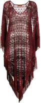Missoni Mare sheer fringed beach dress