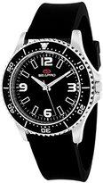 Seapro Women's SP5415 Tideway Analog Display Quartz Black Watch